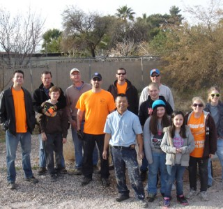 Lowman Elementary Courtyard Community Service Project