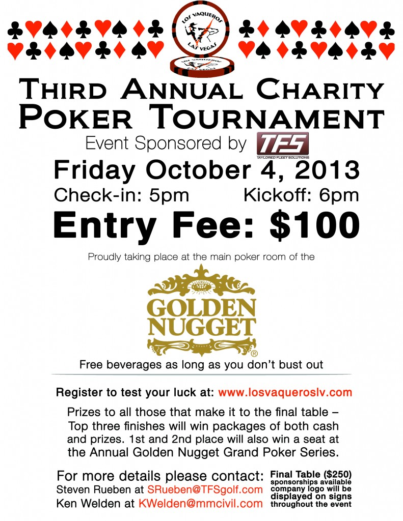 3rd Annual Poker Tournament
